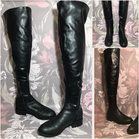 1d003f61650 Sam Edelman Over the Knee Black Boots Size 7. M 5be5a774534ef98c35aa04bd